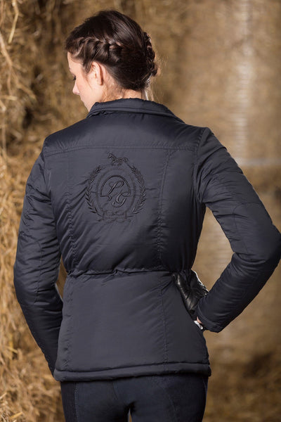 HKM Lauria Garrelli Paris Riding Jacket Rear View