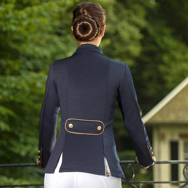 HKM Lauria Garrelli Queens Competition Jacket Rear View 8169