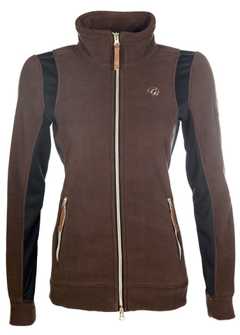 HKM Lauria Garrelli Queens Limited Edition Fleece Jacket - XS (8) | EQUUS