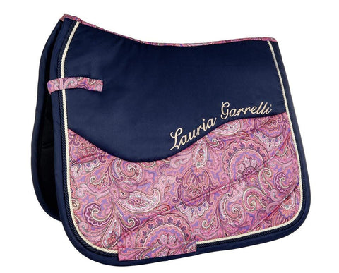 HKM Lauria Garrelli Queens Paisley Saddle Cloth 8174