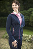 HKM Lauria Garrelli Queens Sweat Jacket in Navy worn by Rider 8165
