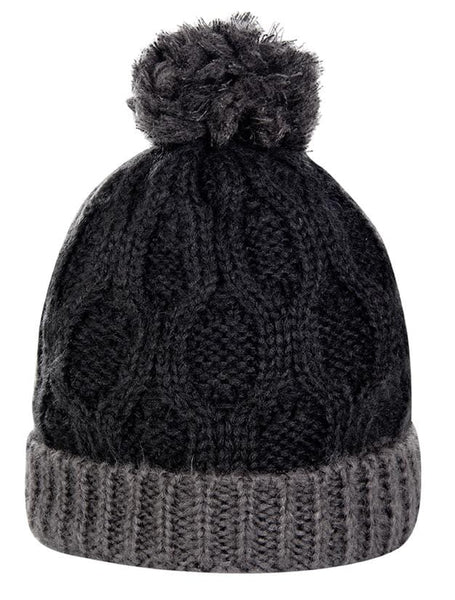HKM Lauria Garrelli Scotland Bobble Hat 9159