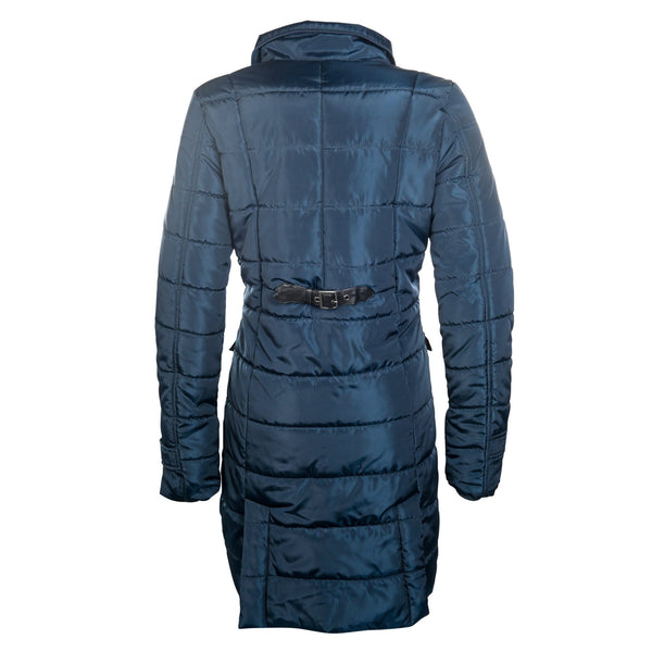 HKM Lauria Garrelli Scotland Coat in Blue Rear View 8716