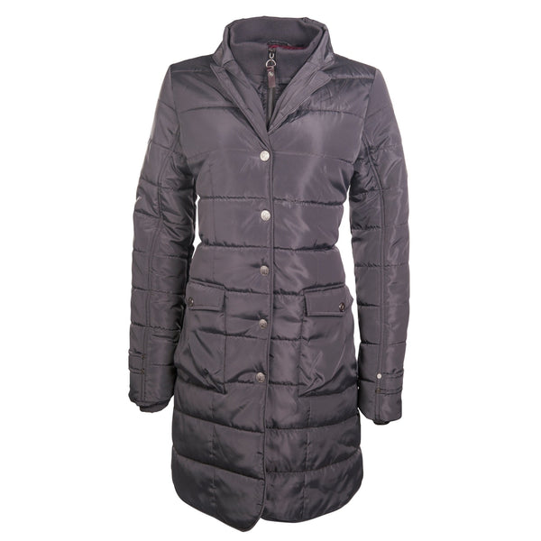 HKM Lauria Garrelli Scotland Coat in Grey Front View 8716