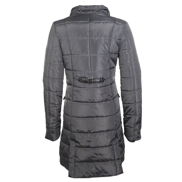 HKM Lauria Garrelli Scotland Coat in Grey Rear View 8716