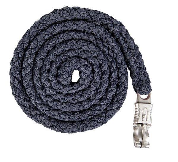 HKM Lauria Garrelli Scotland Lead Rope Deep Blue with Panic Clip 8840/6900