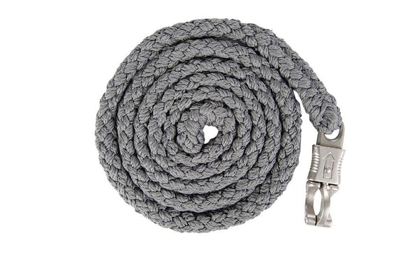 HKM Lauria Garrelli Scotland Lead Rope Grey with Panic Clip 8840/9500