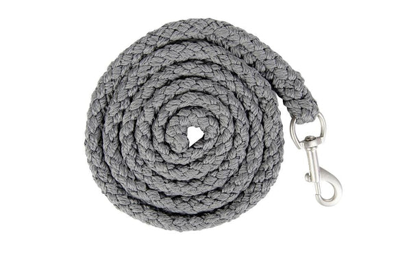 HKM Lauria Garrelli Scotland Lead Rope Grey with Snap Clip 8842/9500