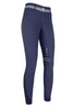 HKM Lauria Garrelli Scotland Silicone Knee Patch Breeches in Deep Blue Front 9376