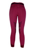 HKM Lauria Garrelli Scotland Silicone Knee Patch Breeches in Wine Red Rear 9376