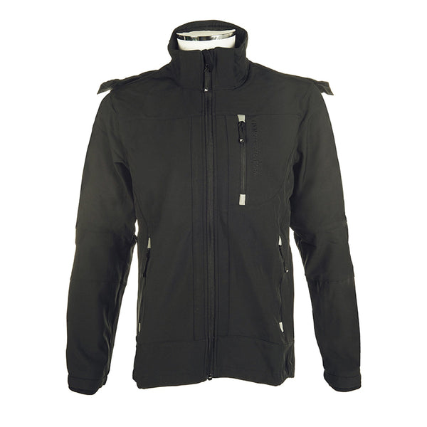HKM Men's Sport Softshell Jacket in Black 5274/9100