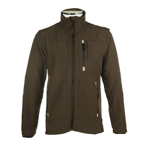 HKM Men's Sport Softshell Jacket in Brown 5274/2100