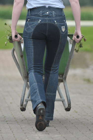 HKM Miss Blink Jodhpurs Rear View