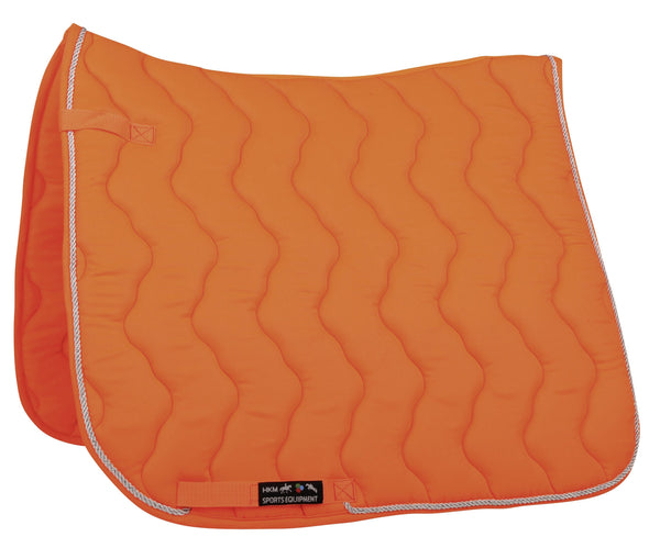 HKM Neon Saddle Cloth in Neon Orange 3044