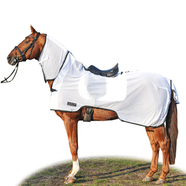 HKM Nizza Anti Fly and Riding Sheet White 7022/1291