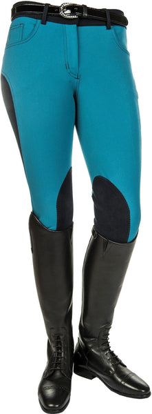 HKM Pro Team Dynamic Contrast Knee Patch Breeches - EQUUS