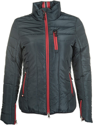 HKM Pro Team Dynamic Quilted Riding Jacket - XS / Deep Blue | EQUUS
