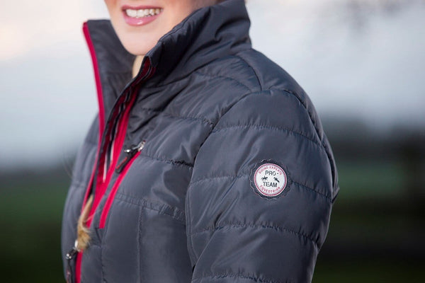 HKM Pro Team Dynamic Quilted Riding Jacket - EQUUS