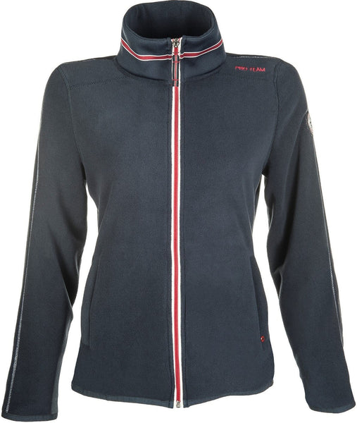 HKM Pro Team Dynamic Children's Fleece Riding Top - 6-7 / Deep Blue | EQUUS