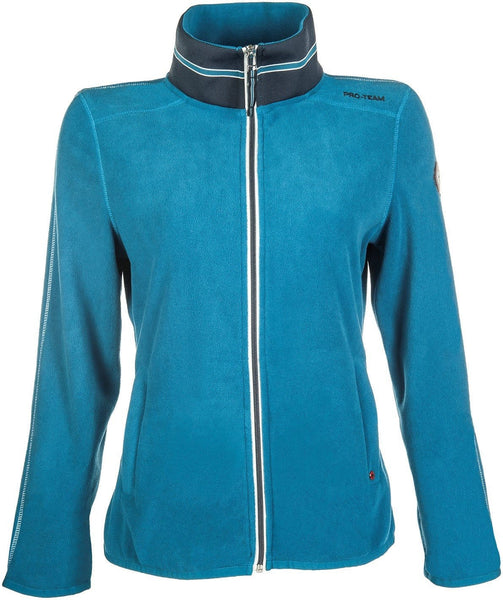 HKM Pro Team Dynamic Children's Fleece Riding Top - 6-7 / Petrol | EQUUS