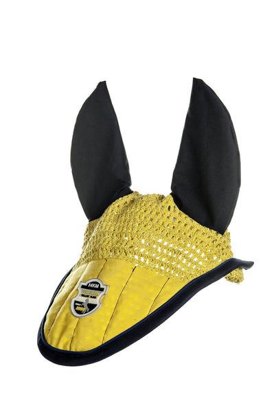 HKM Pro Team Flash Ear Bonnet in Yellow
