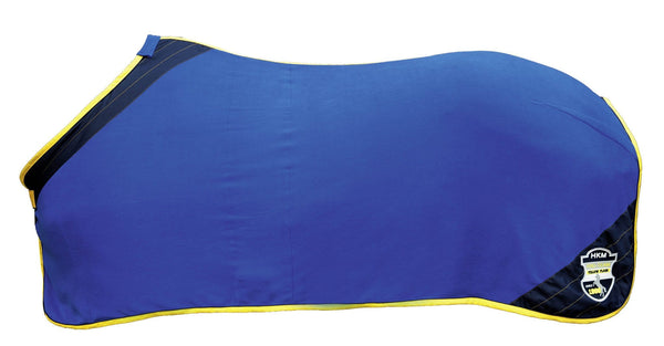HKM Pro Team Flash Cooler Rug - 5'3 / Corn Blue | EQUUS