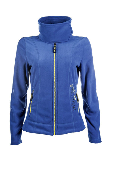 HKM Pro Team Flash Fleece Riding Jacket - XS (8) / Corn Blue | EQUUS