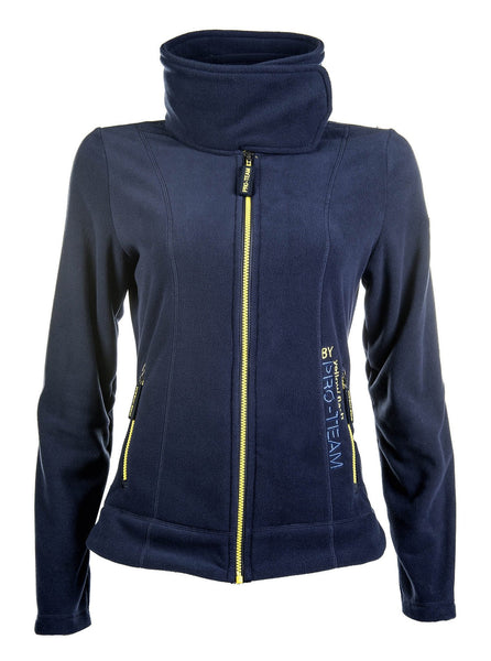 HKM Pro Team Flash Fleece Riding Jacket - XS (8) / Deep Blue | EQUUS