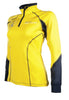 HKM Pro Team Flash Riding Top - XS (8) / Yellow | EQUUS