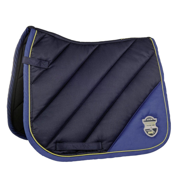 HKM Pro Team Flash Saddle Cloth in Deep Blue