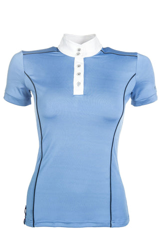 HKM Pro Team International Competition Shirt - XS (8) / Middle Blue | EQUUS