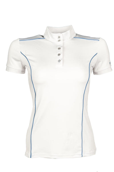HKM Pro Team International Competition Shirt - XS (8) / White | EQUUS