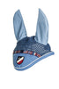 HKM Pro Team International Ear Bonnet - Pony / Middle Blue | EQUUS