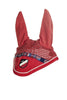 HKM Pro Team International Ear Bonnet - Pony / Red | EQUUS