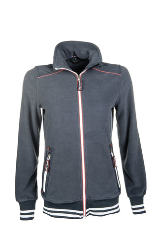 HKM Pro Team International Fleece Jacket - XS (8) / Deep Blue | EQUUS