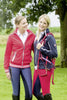 HKM Pro Team International Fleece Jacket - XS (8) / Red | EQUUS