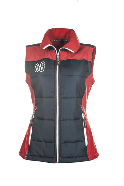 HKM Pro Team International Gilet - XS / Red | EQUUS