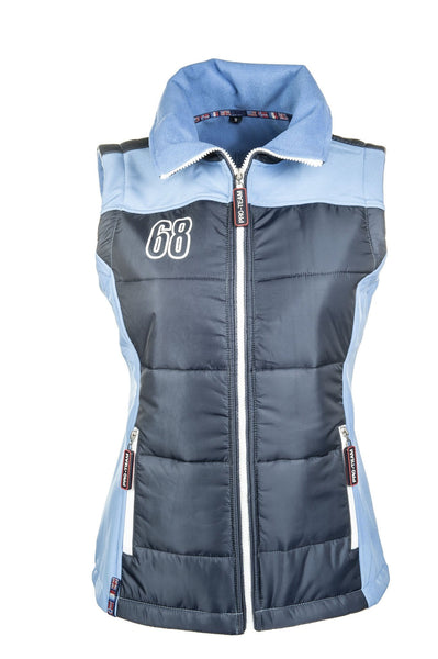 HKM Pro Team International Gilet - L / Red | EQUUS
