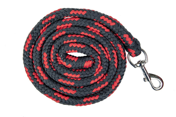 HKM Pro Team International Lead Rope with Snap Clip in Deep Blue