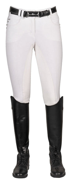 HKM Pro Team Mrs Blink Full Seat Breeches Front View
