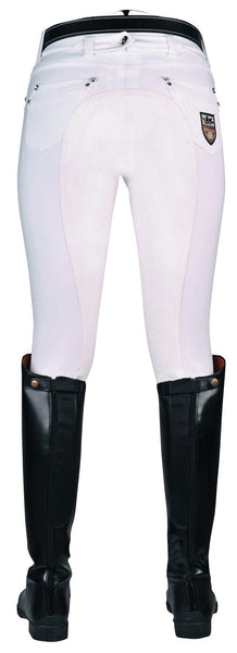 HKM Pro Team Mrs Blink Full Seat Breeches Rear View