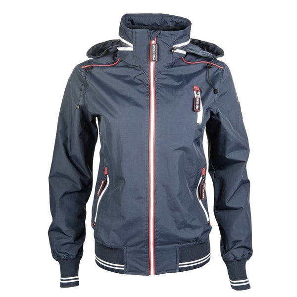 HKM Pro Team International Riding Jacket in Deep Blue