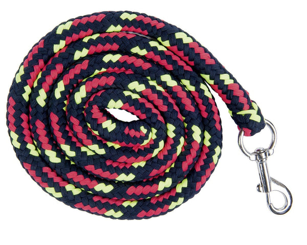 HKM Pro Team Neon Sports Lead Rope with Snap Hook