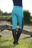 HKM Pro Team Neon Sports Contrast Silicone Full Seat Breeches - EQUUS