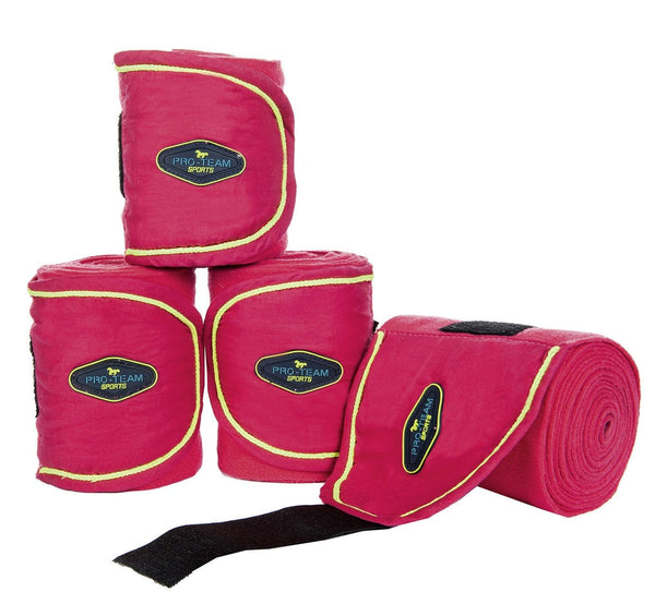 HKM Pro Team Neon Sports Polar Fleece Bandages