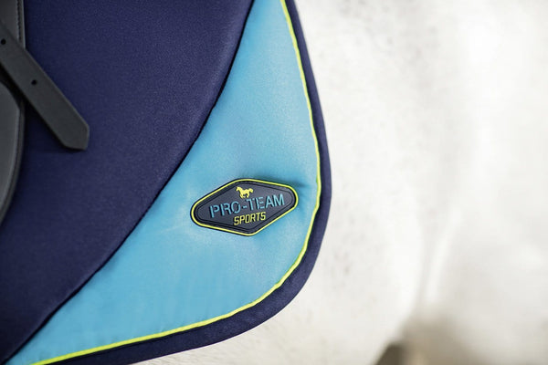HKM Pro Team Neon Sports Saddle Cloth - EQUUS