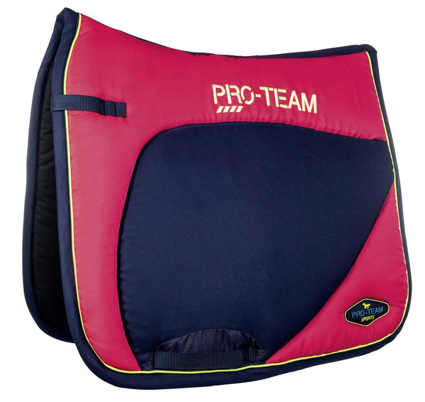 HKM Pro Team Neon Sports Saddle Cloth - Pony / Dressage / Pink | EQUUS