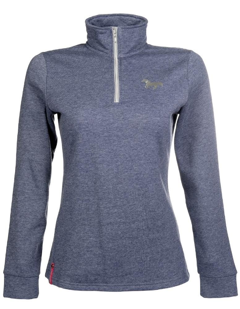 HKM Pro Team Performance Ladies Long Sleeved Riding Top Studio Front 8748/6900