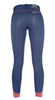 HKM Pro Team Performance Jeggings Full Seat Breeches Studio Rear 8752/6100