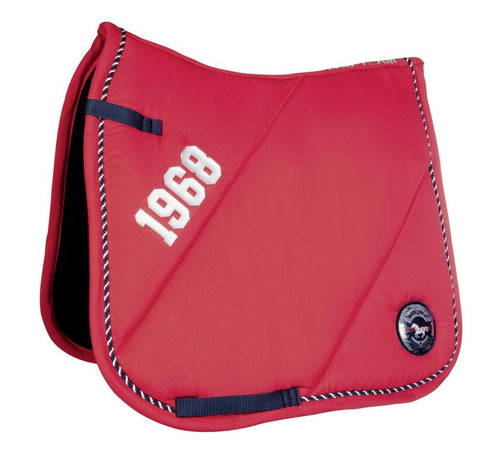 HKM Pro Team Performance Sport Saddle Cloth Red 8819/3000